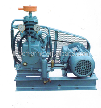 Marine Stationary Diesel Engine Driven Emergency Air Compressor For Ship