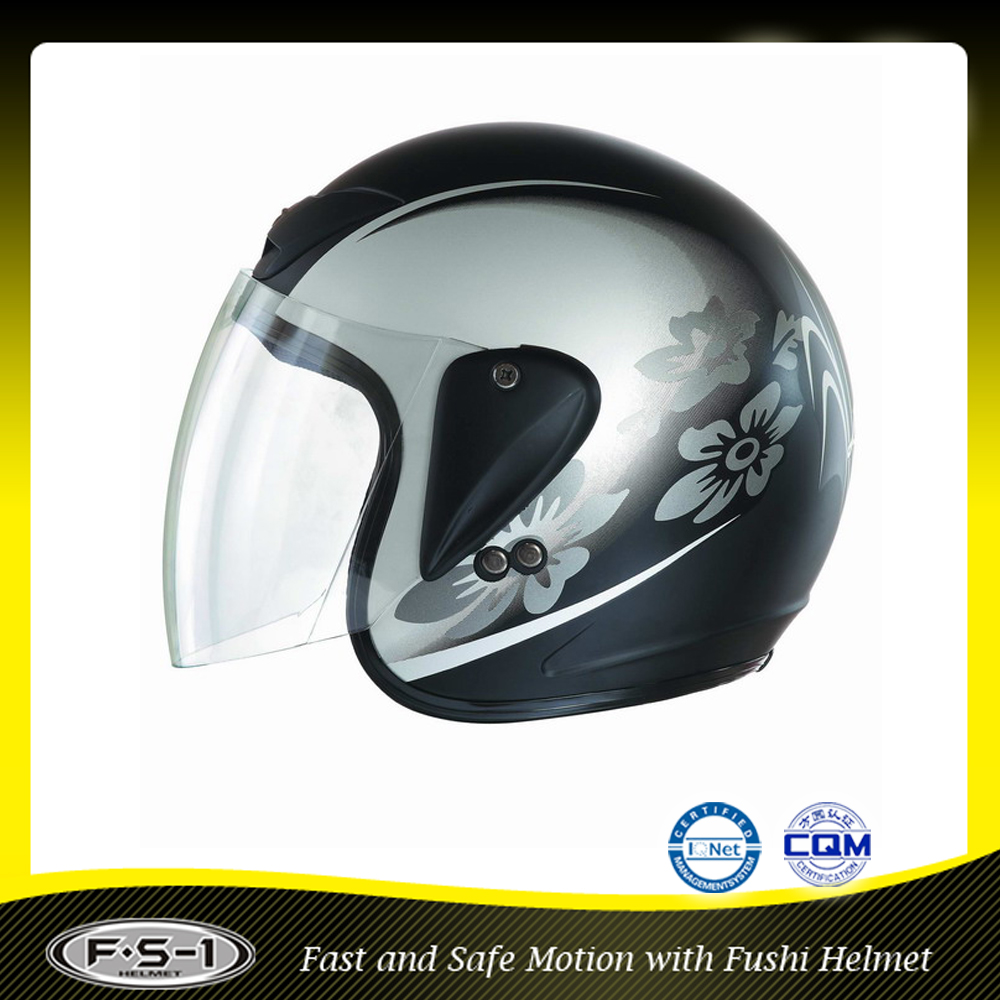ECE certifications motorcycle snowmobile helmet / ABS material full face scooter helmet motorcycle
