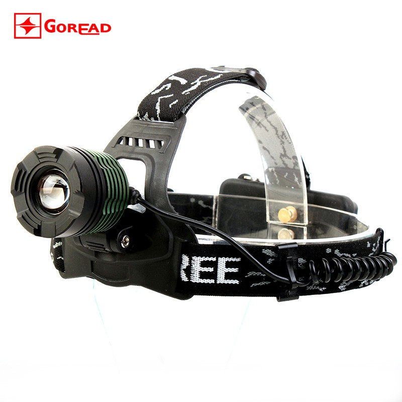 CP Passerby GD18 headlamp flashlight bright led headlamp with rechargeable batteries toyota corolla head lamp