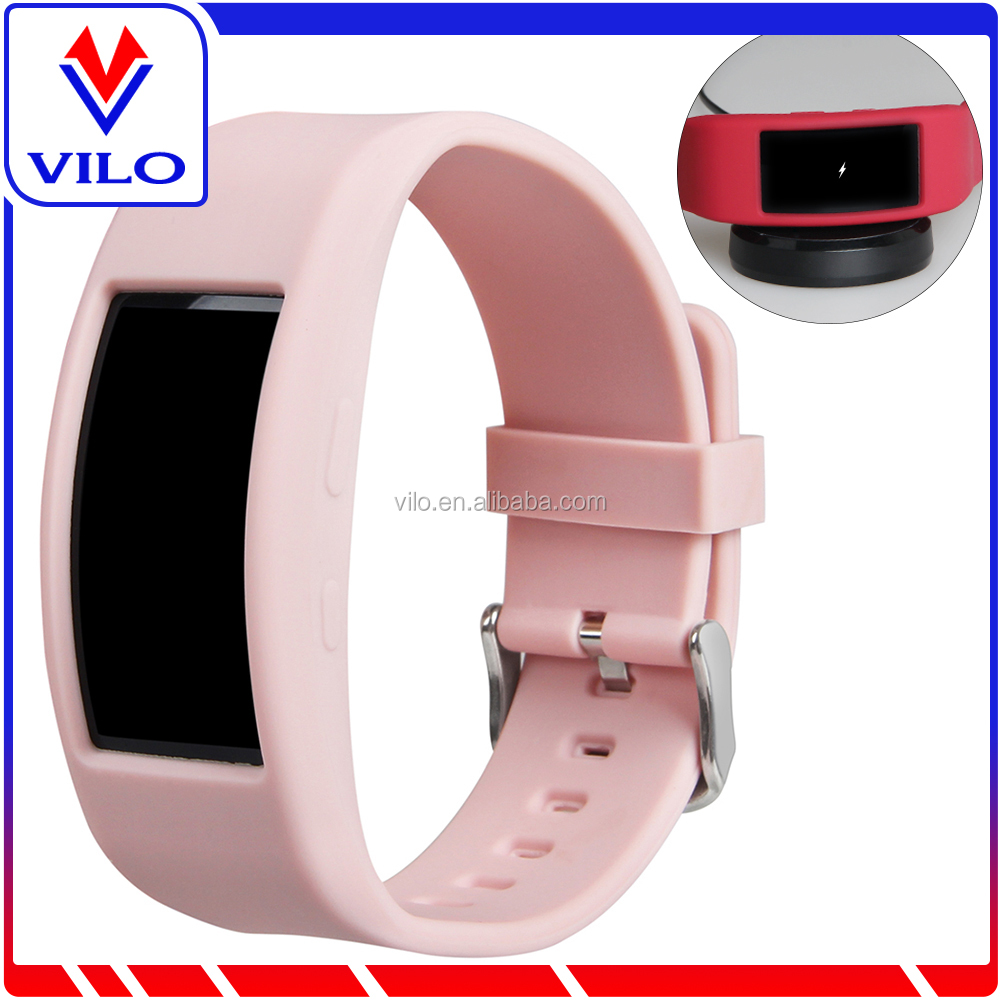 New arrival SM-R360 Replacement silicone band for samsung gear fit 2
