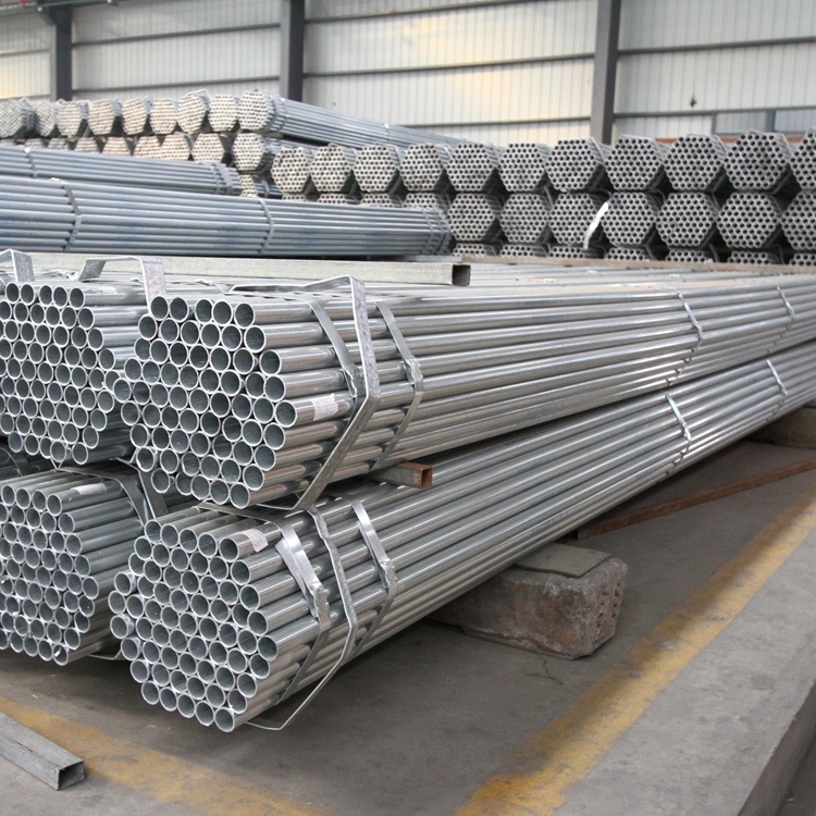 Hot selling erw pre galv.tubes/galvanized pipe for poultry feeding system with high quality