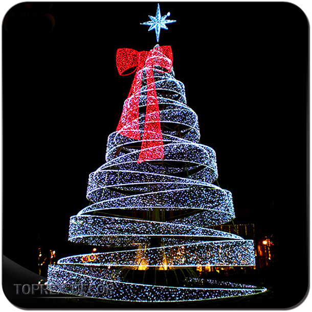 giant ribbon ip65 spiral lighted christmas tree buy spiral lighted christmas treeip65 spiral lighted christmas treeribbon ip65 spiral lighted christmas