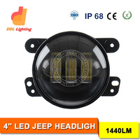 2015 Hotest Sale 4'' Headlight Round Motorcycle Headlight 7 Inch LED Headlight for Jeep Wrangler
