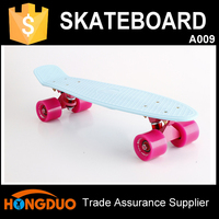 Outdoor sports equipment banana plastic skate board