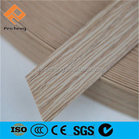 Chinese supplier extrusion table rubber edging / 3mm pvc edge banding / pvc edgebanding for furniture