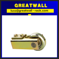 Window and Door industry door guide roller track for sliding door guide nylon roller bracket