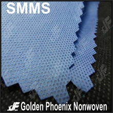 SMMS nonwoven fabric for medical use with anti-alcohol propertie