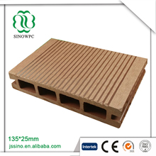 Outdoor Hollow Wpc Decking Flooring Decorate Board/Advertising Hollow Plastic Board