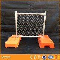 Portable temporary barricade fence manufacturer