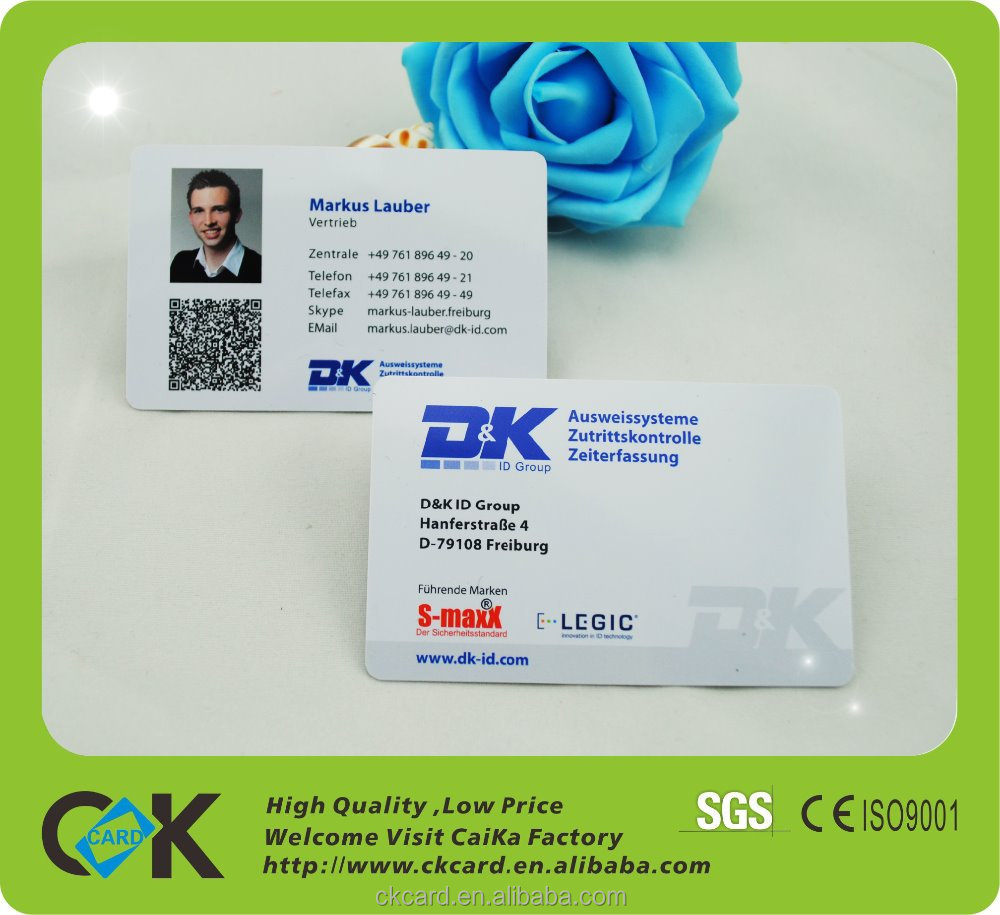 2016 Competitive Plastic Card Printer to Print StudentCard, Photo pre-printed ID Card with hologram