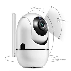 2019 1080P WiFi IP Camera Wireless Baby Monitor with HD Audio Camera Automatic movement Motion Tracking Detector Night Vision