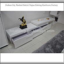Environmental Modern Custom Printed Used Wooden tv stand living room furniture tv cabinet
