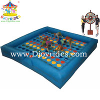 2014 newest inflatable twist game for sport games /Classic Inflatable Twist games