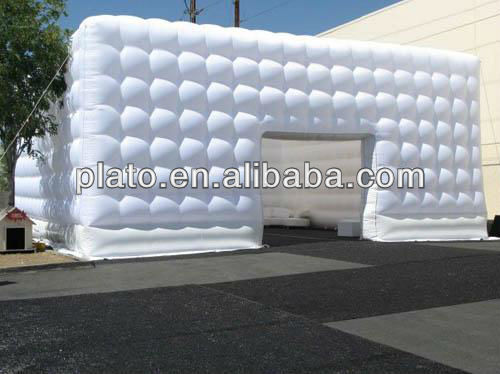 Inflatable giant cube outdoor tent warehouse