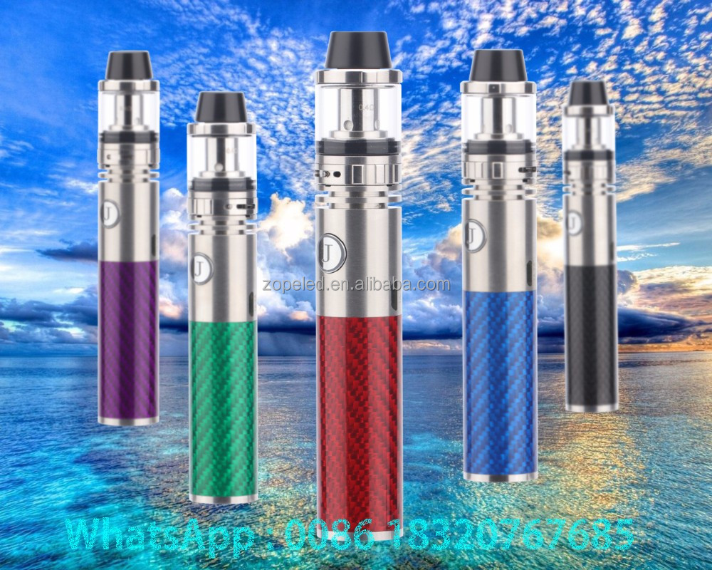rainbow smoke cigarettes 100W/1600mah battery atomizer tank 2ML vape pen Jomotech Royal 100 Shisha pen