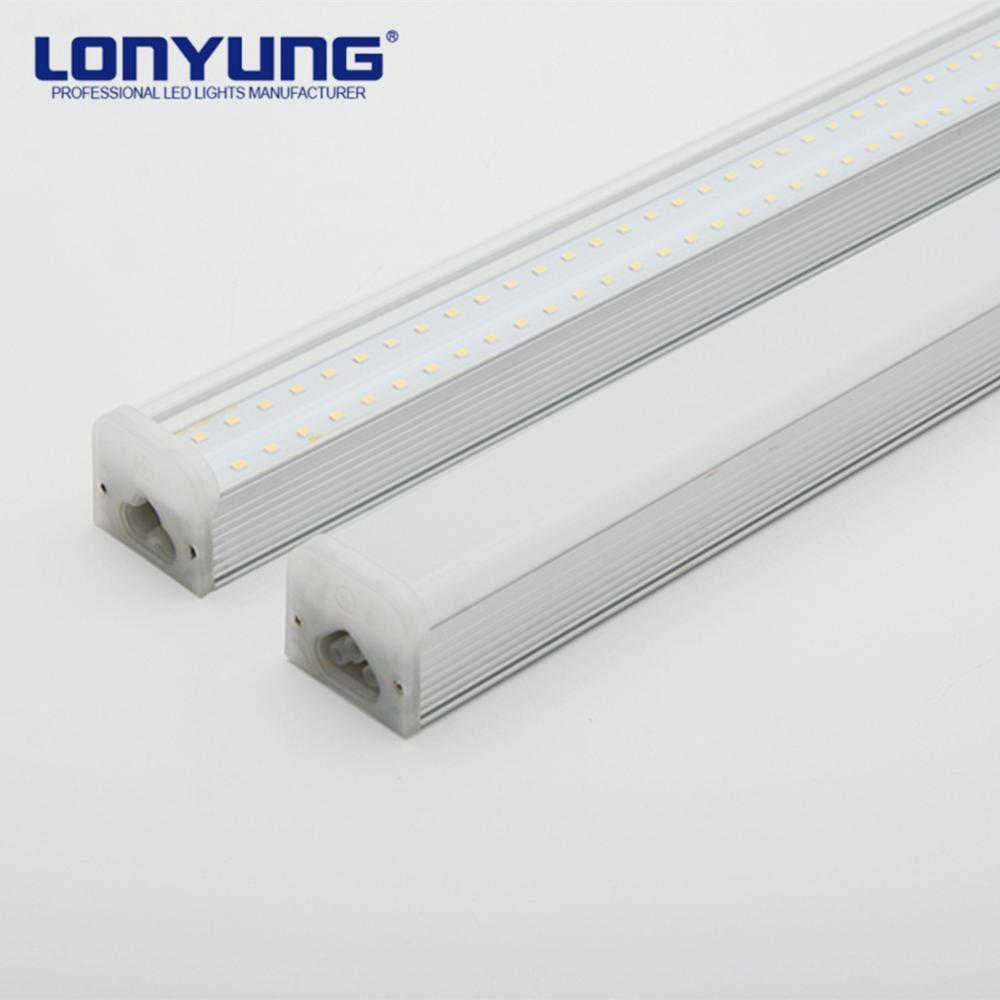 High Quality 1200mm/30w seamless design t5 double tubes for supermarket warehouse