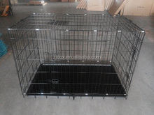 "48"" Best Selling Folding Metal Wire Dog Crate Cage Kennel"