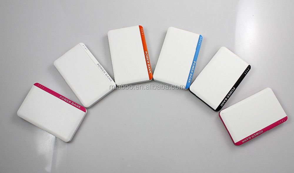 credit card size power bank, New slim portable battery charger, usb power bank card built-in usb flash drive