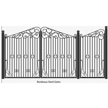 Custom Electric Driveway Gates / iron gate