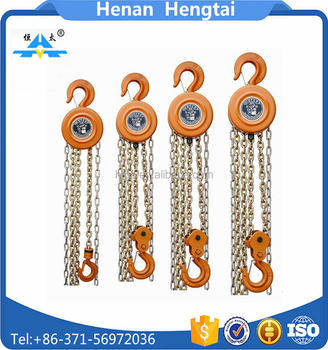 Building Lifting Tools Manual Small Hand 1 ton Chain Hoist