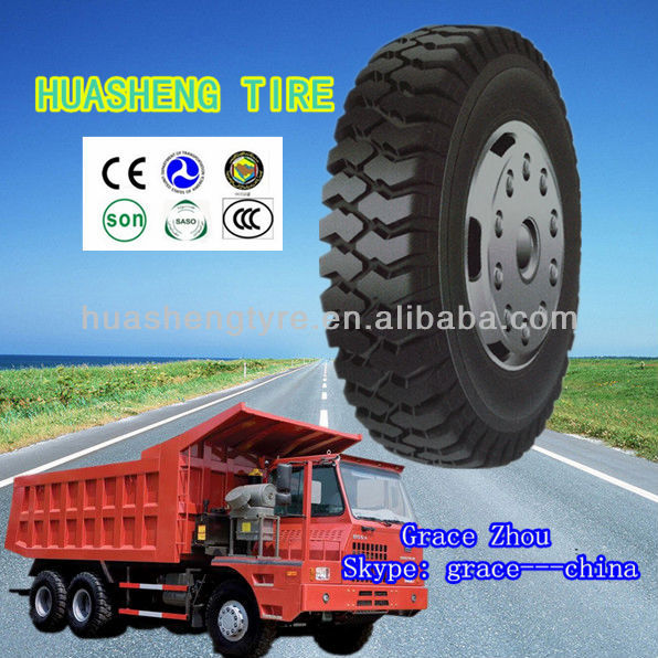China brand Heavy truck tire Large Dumper truck tire 10.00-20 used for transport vehicles direct factory sell in good price