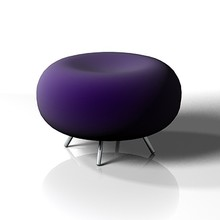 Designer Chair Colorful Allermuir Pebble Stool chair
