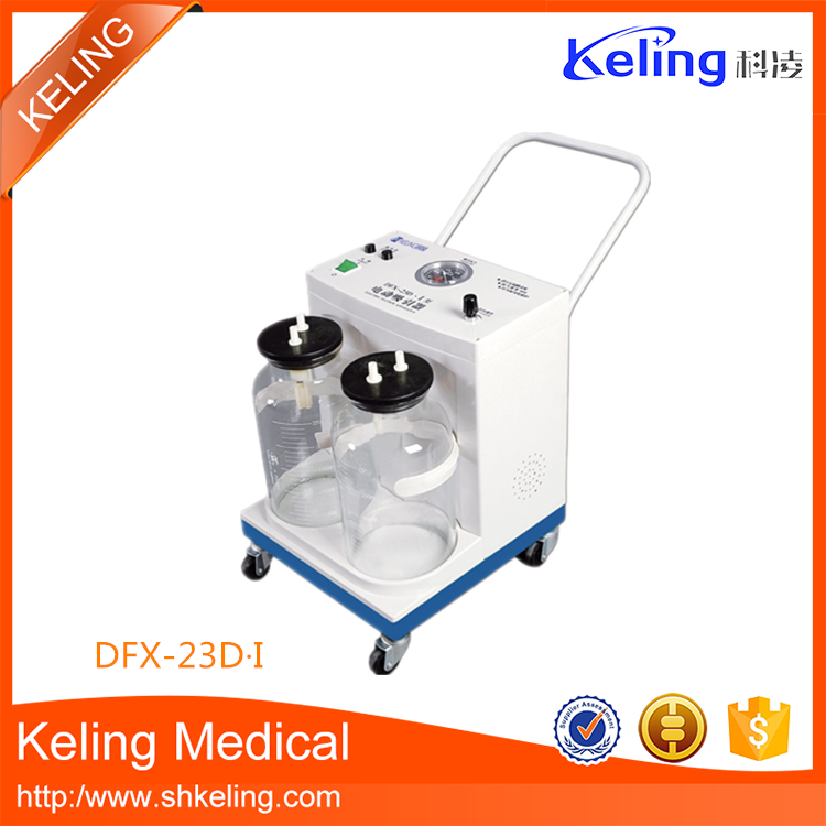 high quality electronic hospital suction unit with best and low price
