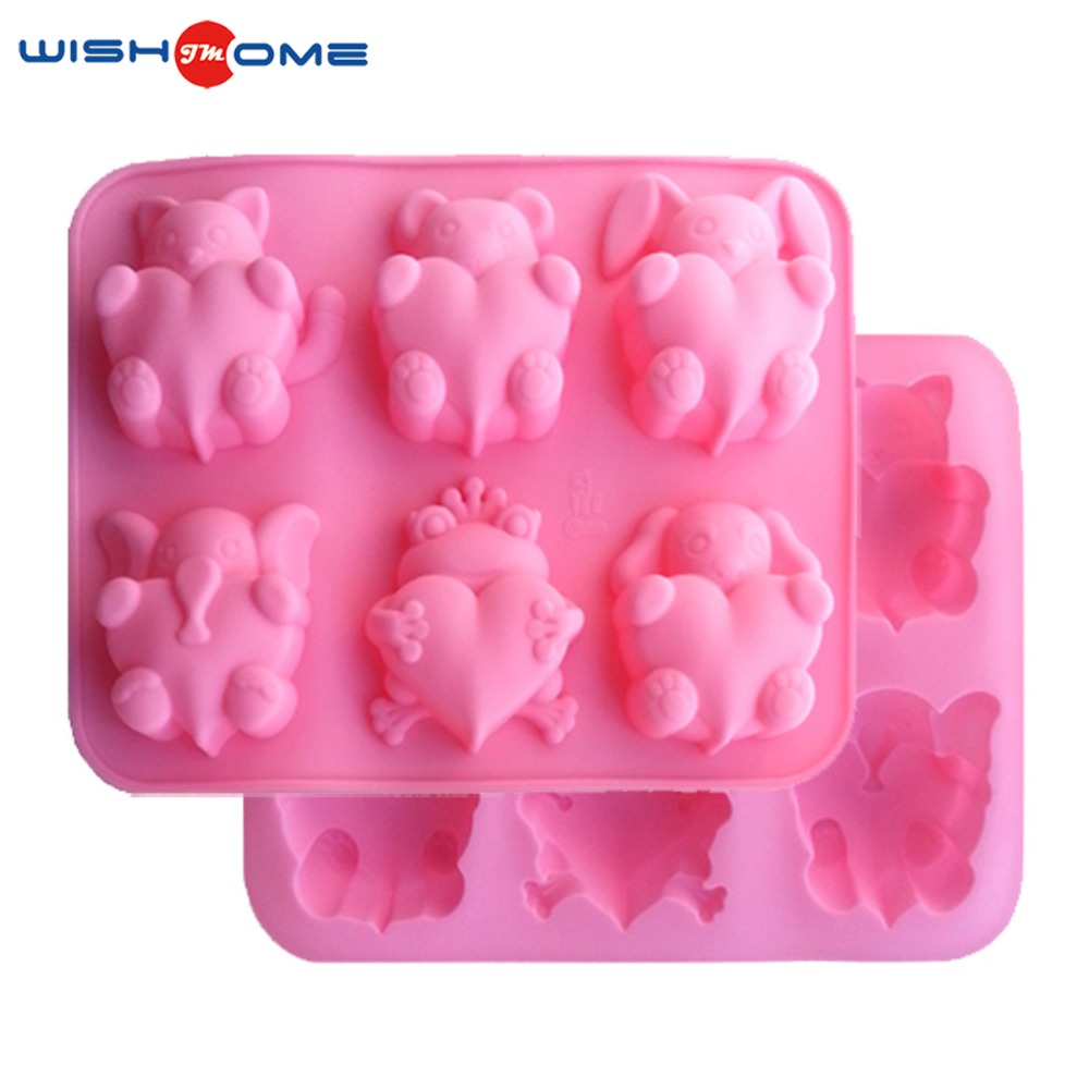 JianMei Brand kitchen baking tools silicone cake mould for making cakes microwave silicone cake mold
