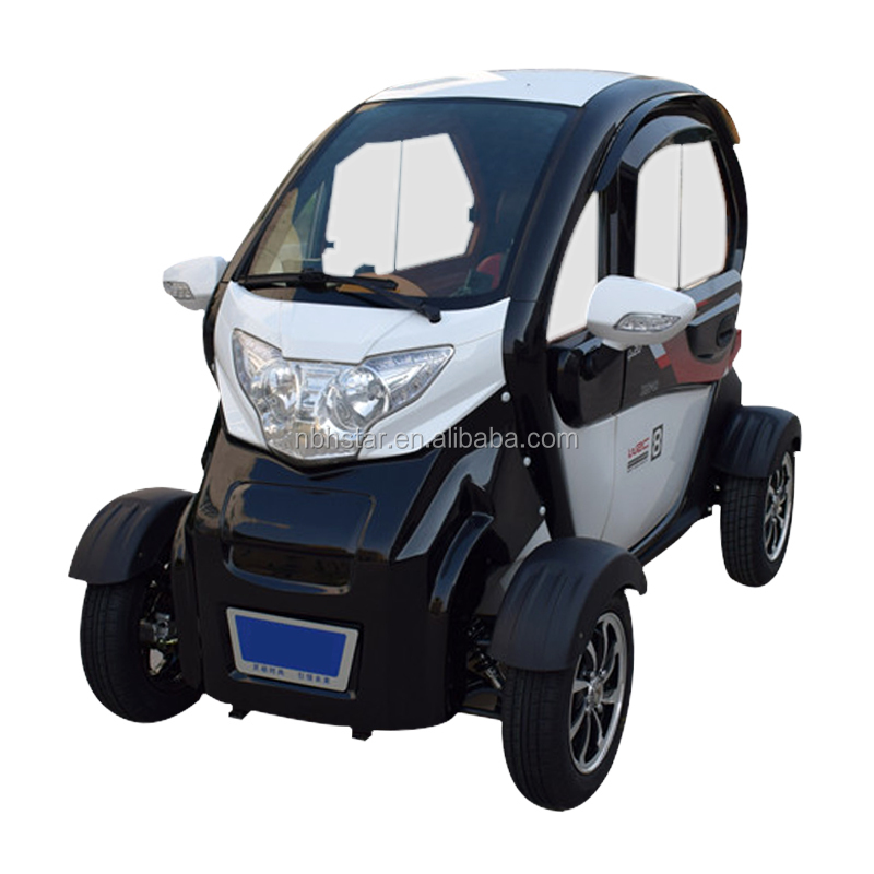 2018 2 seats electric mini car / passenger electric car/ 4 wheel electric scooter
