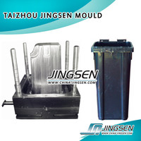 plastic trash can injection mold moulding design & manufacture,in TAIZHOU ,HUANGYAN