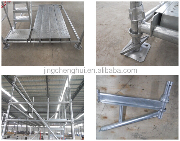 Q235 Steel Best Price Construction Cuplock Scaffolding Brace