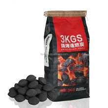 3KG BBQ Charcoal Briquette, Make Charcoal Briquettes from Sawdust