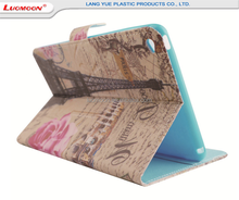 Customized printing leather tablet case for Apple ipad mini air pro 2 3 4