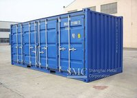 20' Open Side Door Container