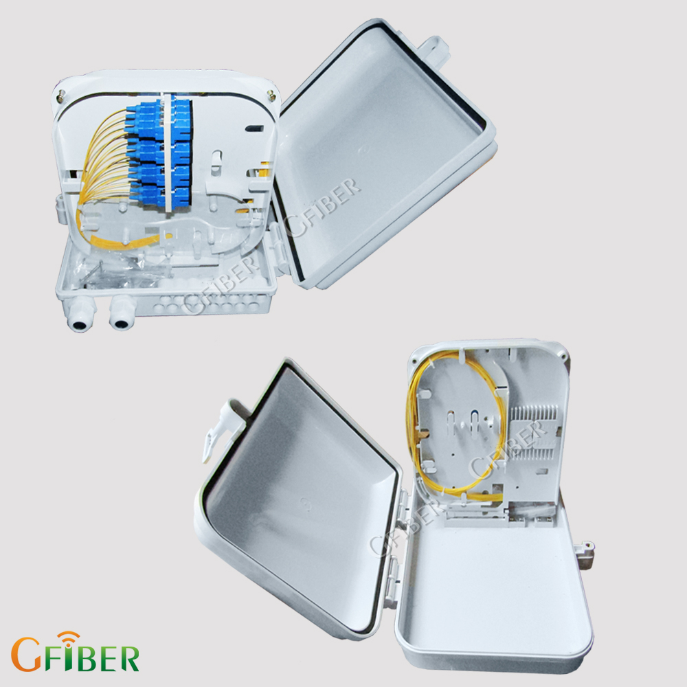 Gfiber outdoor mini cable junction box splice