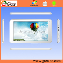 7inch 4GB MTK6572 dual core android 4.0 smart pc tablet built in WiFi 3G Phone call Dual Camera GPS