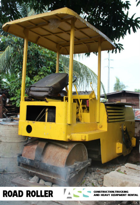 Road Roller Heavy Equipment for Rent