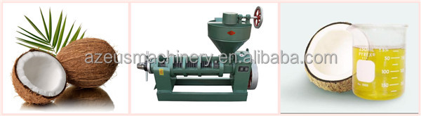 Newest coconut oil processing machine for hot sale