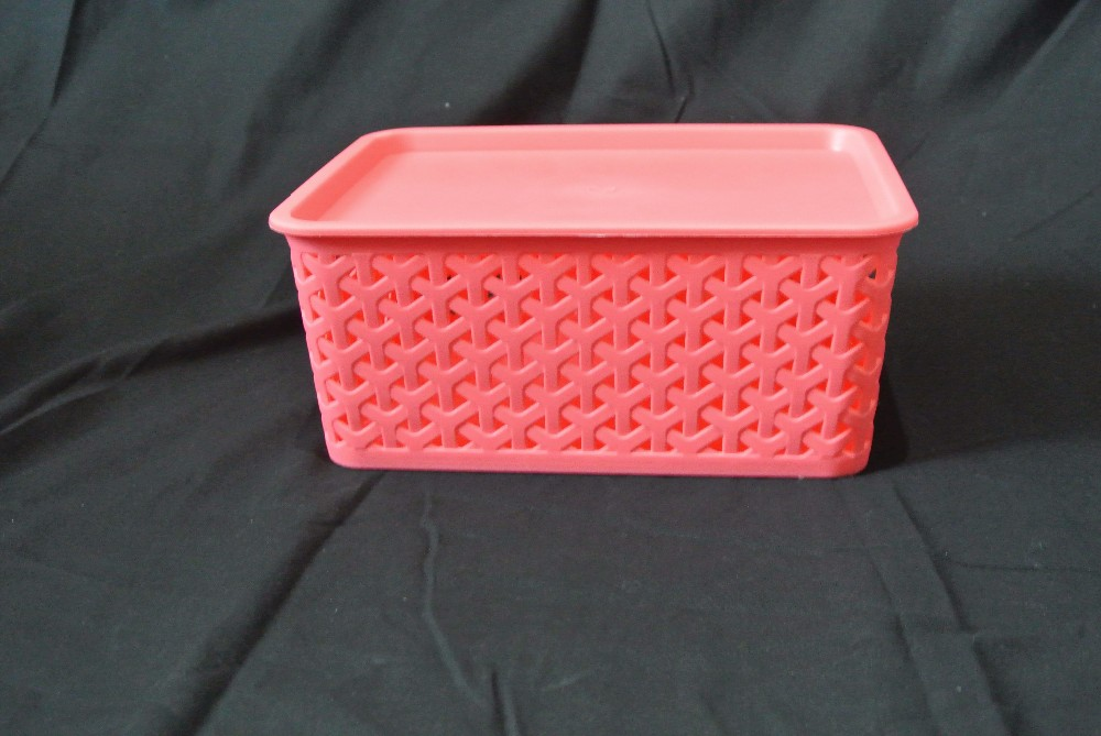 Professional Manufacturer Supplier Save Storage Space Rectangular Baskets