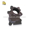 Chinese popular custom air compressor sand cast iron parts