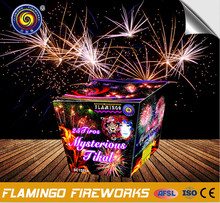 mysterious peacock fireworks 25 shotsm for hot selling