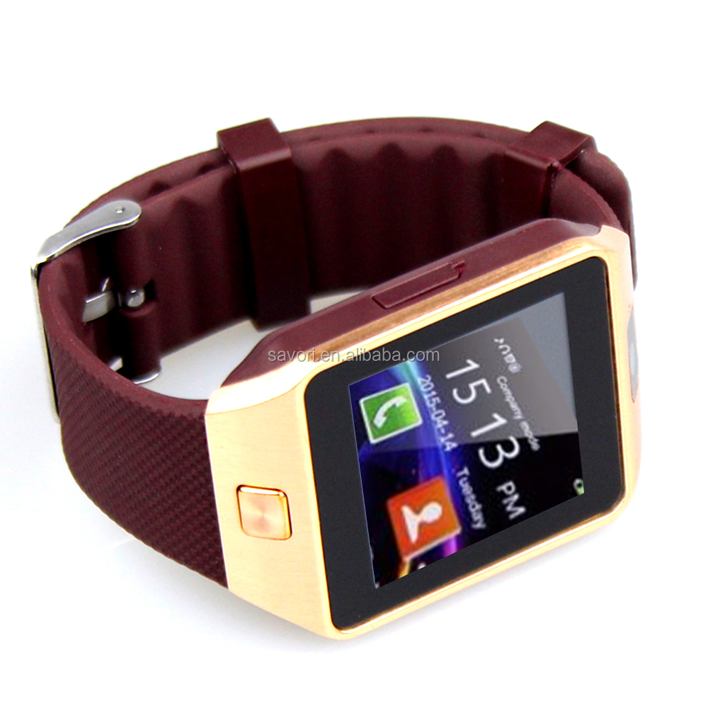 Low Price DZ09 Smart Watch dual sim wrist watch mobile phone made in China