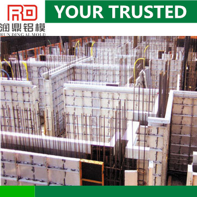 RD Easy disassembly great advantages over conventional wooden formwork