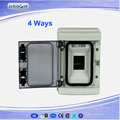 Factroy supply circuit breaker mcb distribution box 4ways electrical distribution box