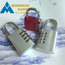 4 Dial Number Combination Padlock Lock Gym Lockers Sheds Toolboxes