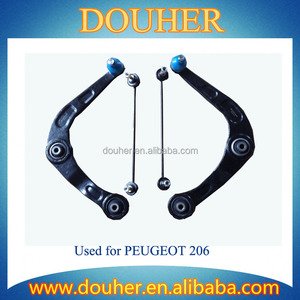 Manufacture Auto Part Control Arm Kit For Peugeot 206 including Control arm and stabilizer bar