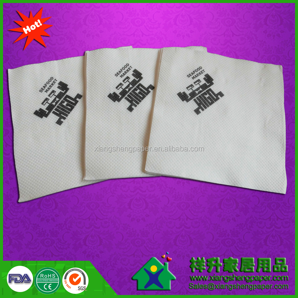 Printed Feature and Bag Style paper napkins