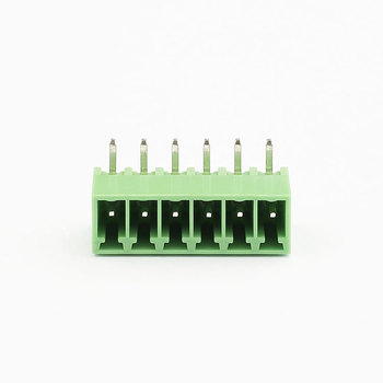 5mm pitch electrical 6 pin screw terminal block connector