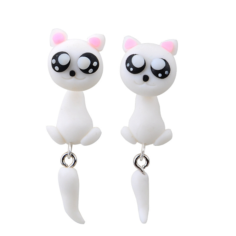 YG-034 Ear Ring Models Fashion Earring Designs New Model Animal Earrings Women Cat Ear Rings