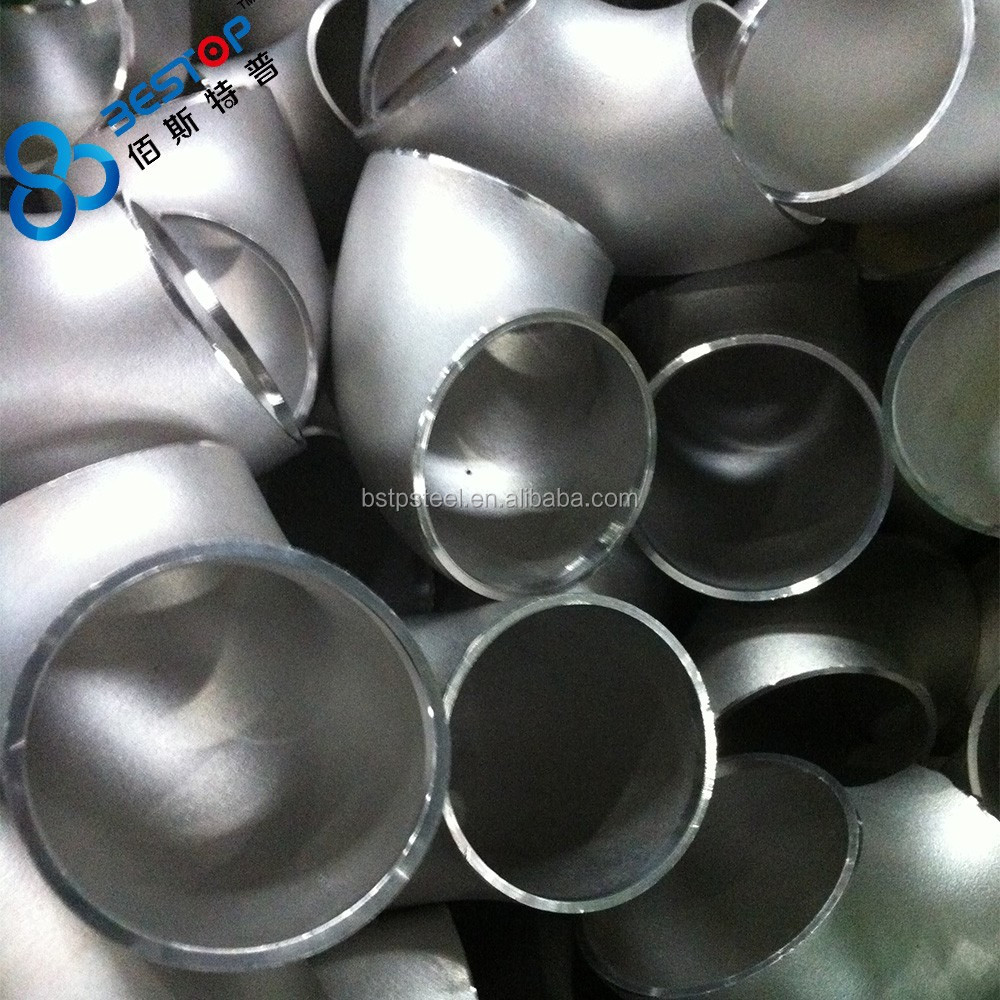 china supplier wholesale 90 degree LR/SR SEAMLESS Elbow ANSI B16.9 or ANSI B16.28 dimensions